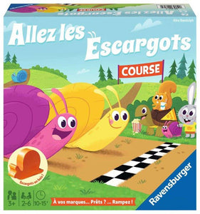 Ravensburger Snail's Pace Race French Version Children's Games