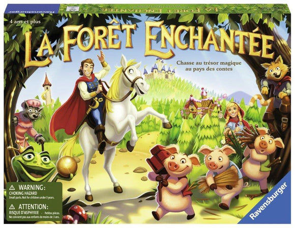 Ravensburger Enchanted Forest French Version Children's Games