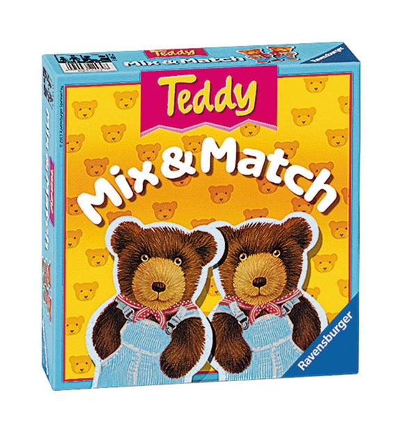 Ravensburger Puzzles & Games - Teddy Mix & Match