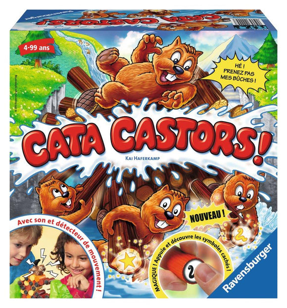 Ravensburger Cata Castors Children's Games