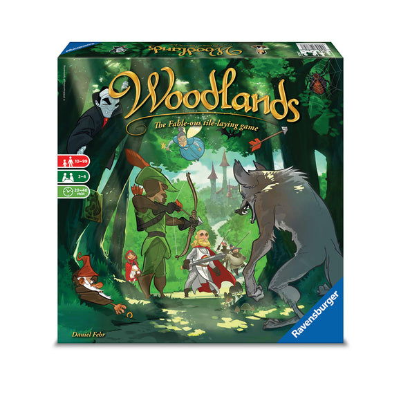 Ravensburger Puzzles & Games - Woodlands