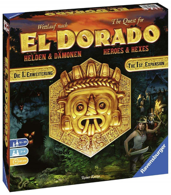 Ravensburger El Dorado: Heroes & Hexes Family Games