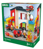 Central Fire Station - Jouets Choo Choo