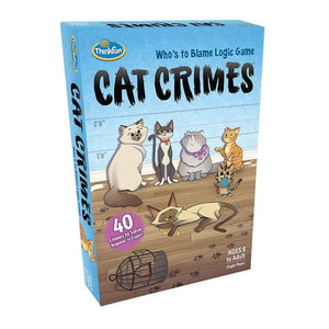 Think Fun Games - Cat Crimes  English Version