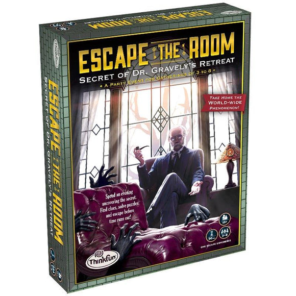 Think Fun Games - Escape the Room - Gravely's Retreat