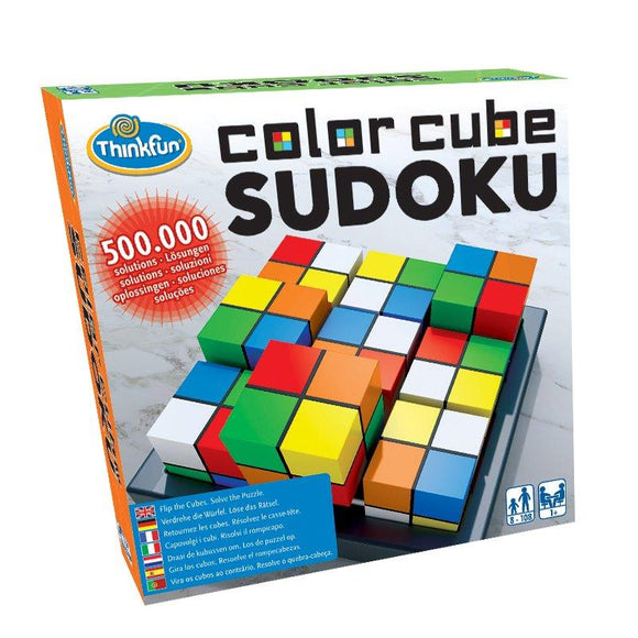 Think Fun Games - Color Cube Sodoku