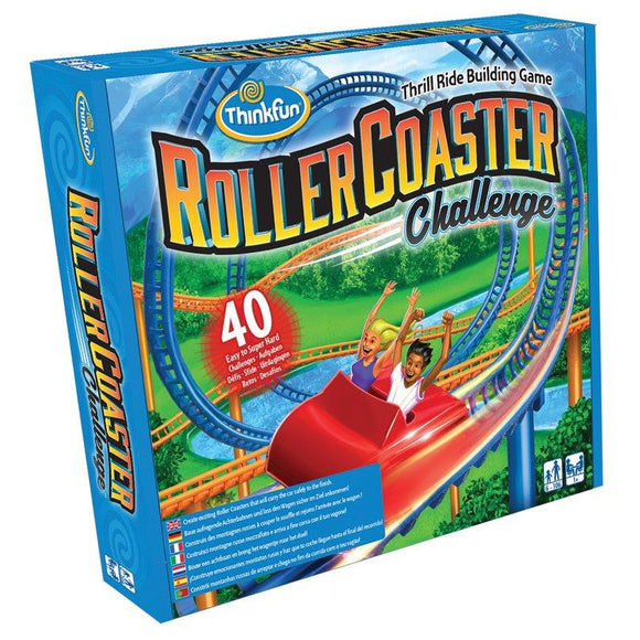 Think Fun Games - Roller Coaster Challenge
