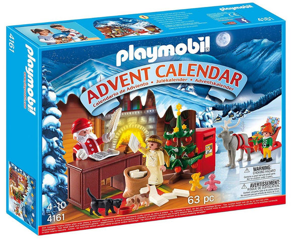 Playmobil Advent Calendar Christmas Post Office 4161