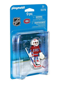 Playmobil NHL Montreal Canadiens Goalie 5078