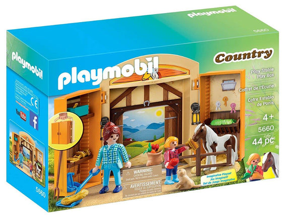 Playmobil Pony Stable Play Box 5660