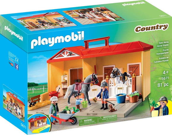 Playmobil Take Along Horse Stable 5671