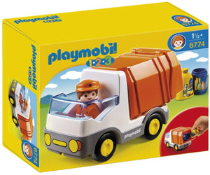 Playmobil 1.2.3 Recycling Truck 6774