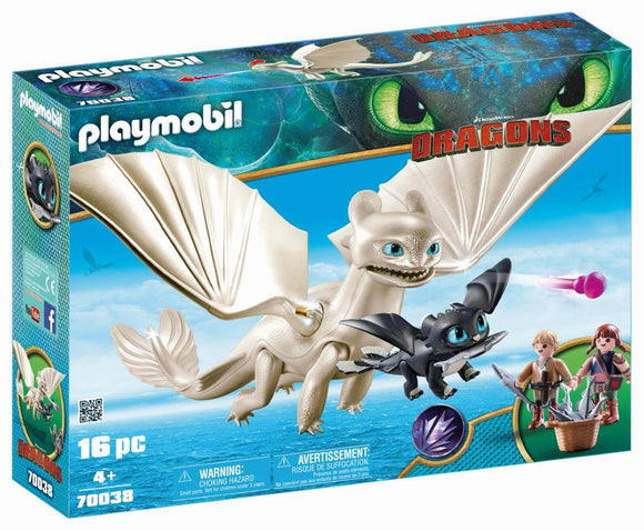 Playmobil Light Fury Playset 70038