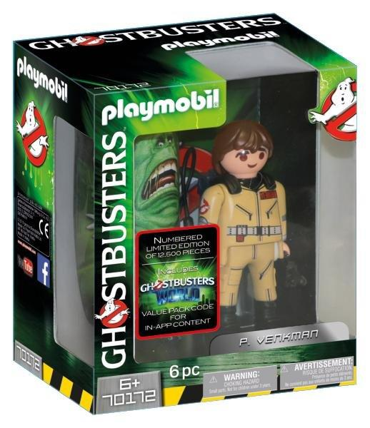 Playmobil Ghostbusters Collection Figure P. Venkman 70172