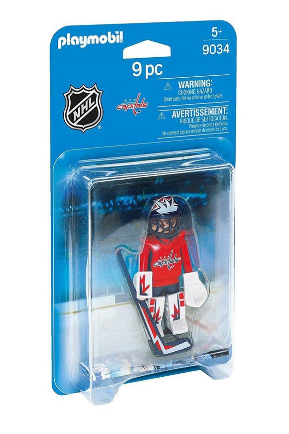 Playmobil NHL Washington Capitals Goalie 9034