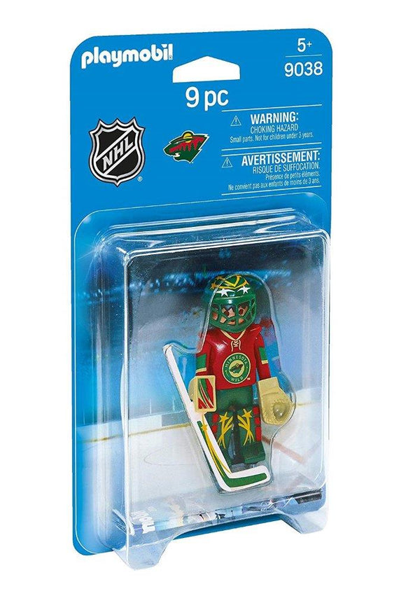 Playmobil NHL Minnesota Wild Goalie 9038