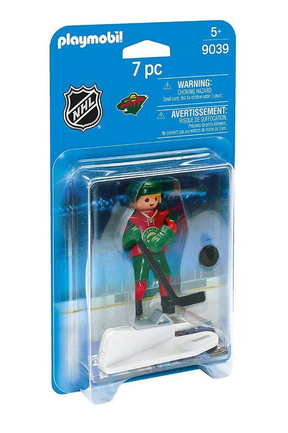 Playmobil NHL Minnesota Wild Player 9039