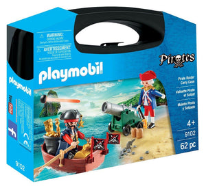 Playmobil Pirate Raider Carry Case 9102