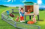 Playmobil Bunny Barn Carry Case 9104