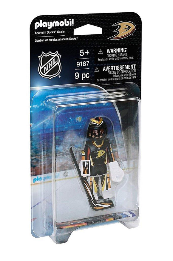 Playmobil NHL Anaheim Ducks Goalie 9187