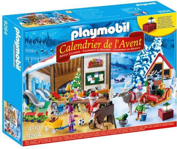 Playmobil Advent Calendar - Santa's Workshop 9264