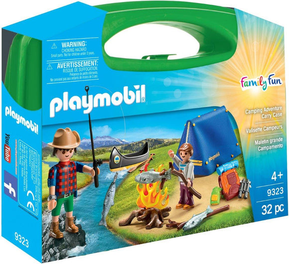 Playmobil Camping Adventure Carry Case 9323