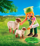 Playmobil Farmer with Sheep 9356