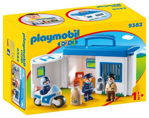 Playmobil Take Along Police Station 9382