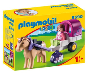 Playmobil Horse-Drawn Carriage 9390