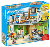 Playmobil Furnished School Building 9453