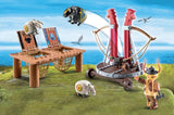 Playmobil Gobber the Belch with Sheep Sling 9461