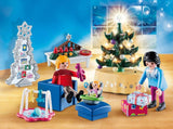 Playmobil Christmas Living Room 9495