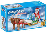 Playmobil Santa's Sleigh with Reindeer 9496