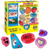 Creativity For Kids - Hide & Seek Rock Painting Kit Craft Kit