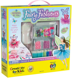 Creativity For Kids - Designed By You Fairy Fashions Craft Kit