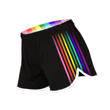 Load image into Gallery viewer, Thomas Sanders Could Be Gayer Rainbow Gym Shorts