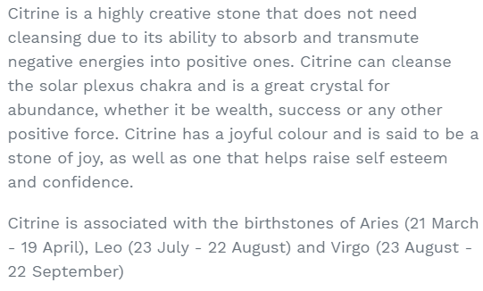 citrine uses and benefits