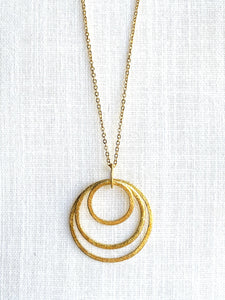 Gold Necklace - Full Moon Designs