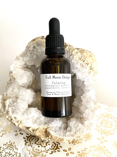 Calming Massage Oil. Vegan - Full Moon Designs