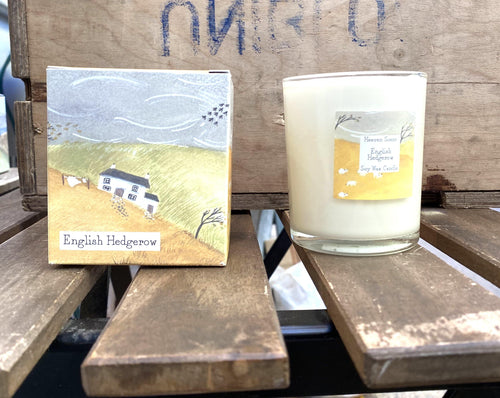 Candles - Vegan. English Edgerow - Full Moon Designs