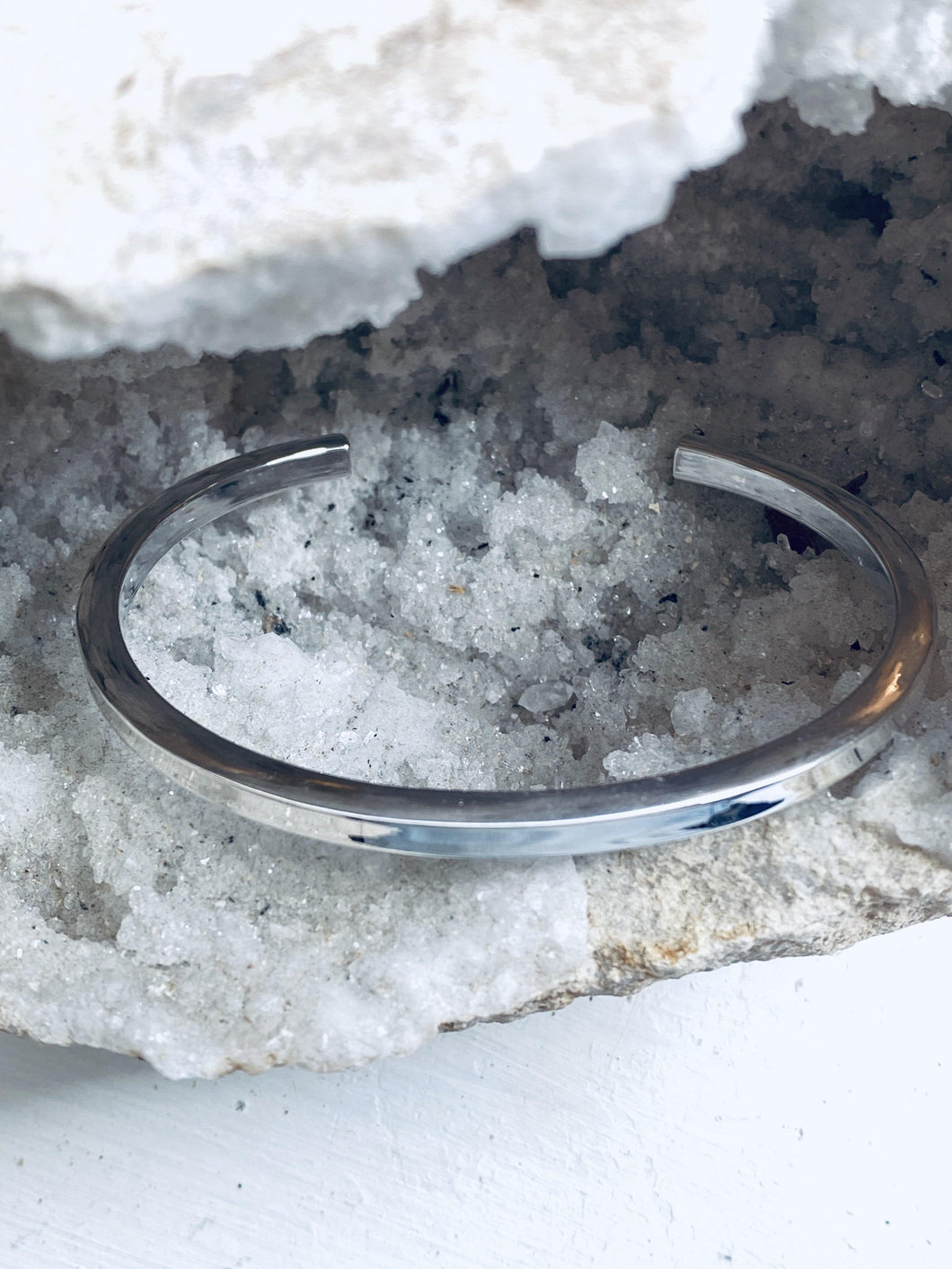 Silver Bangle - Full Moon Designs