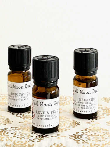 Essential Oils. Vegan - Full Moon Designs