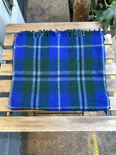 Load image into Gallery viewer, Recycled Wool blankets Tartan - Full Moon Designs