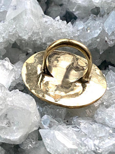Brass ring - Full Moon Designs
