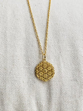 Load image into Gallery viewer, Flower of Life Pendant Necklace - Full Moon Designs