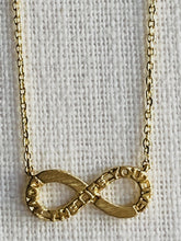 Load image into Gallery viewer, Infinity Gold Necklace