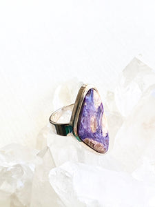 Betrandite Sterling Silver Ring