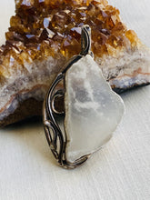 Load image into Gallery viewer, Ulexite Sterling Silver Pendant