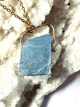 Load image into Gallery viewer, Labradorite Gold on Silver Pendant - Full Moon Designs