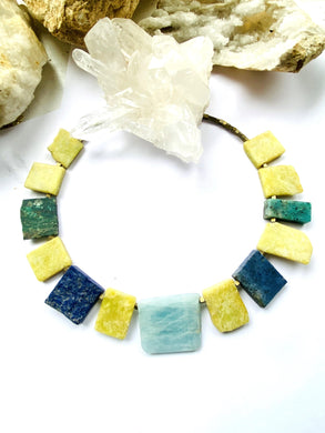 Multi Colour Necklace - Full Moon Designs